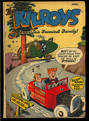 Kilroys #11 Golden Age Teen Humor ACG Comic 1948 GD+