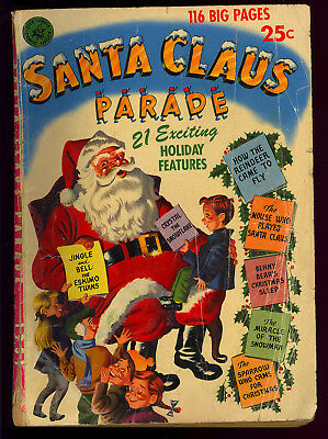 Santa Claus Parade #nn (#1) Christmas Ziff-Davis Giant Comic 1951 FR-GD