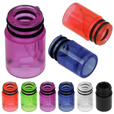 510 Drip Tip Clear Spiral Anti Spit-Back Mouthpiece For TFV8 TFV12 Melo 2 Melo 3