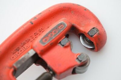 "Ridgid Heavy Duty Pipe Cutter No 2A/202 1/8"" to 2"" in great condition"