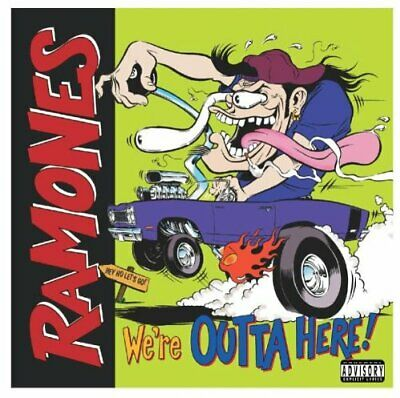 The Ramones - We're Outta Here: The Ramones' Last Show - The Ramones CD D0VG The