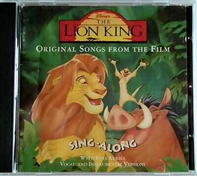 Various - Lion King Sing-A-Long - Various CD CUVG The Cheap Fast Free Post The