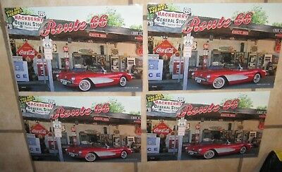 Route 66 laminated Placemats Picture by Ellen Clark Set of 4