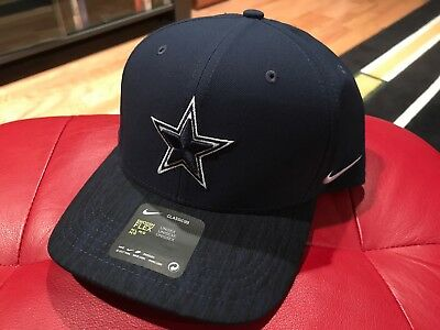 e45197bf3 Dallas Cowboys Hat Cap Nike Classic99 Aero Swoosh Flex Nfl Football M/L Fit  New
