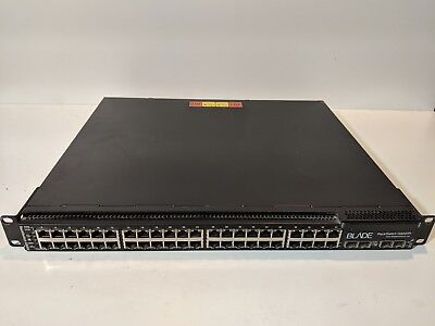 New Blade BM136A G8000F 48-Port Gb Ethernet Rack Switch Front-Rear Airflow HSS