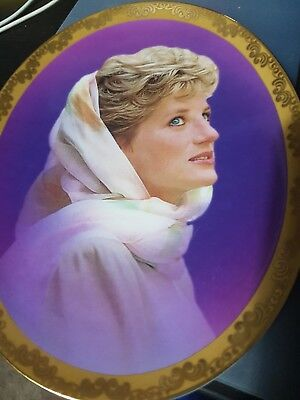 princess diana plates limited edition Bradford Exchange. Very collectible.
