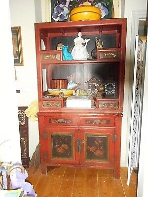 Antique provincial Chinese Sideboard.