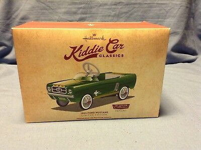 Hallmark 1965 Ford Mustang Repaint Kiddie Car Classic Limited Edition New In Box