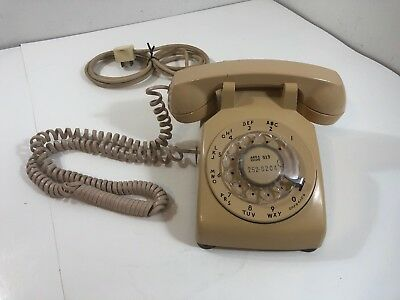 Western Electric Bell Systems 1965 Rotary Desk Telephone
