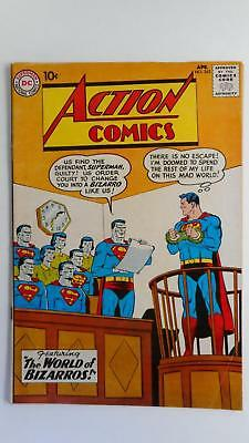 Action Comics #263  Vg 4.0 (Dc 1938 Series) Bizarro Cover And Story