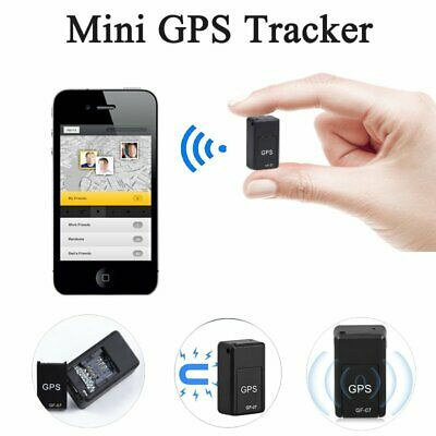 Magnetic Mini GPS Tracker Car GSM GPRS Real Time Tracking Locator Device AU