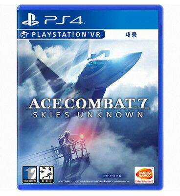 Ace Combat 7 Skies Unknown PS4 Game Sony PlayStation 4 Engilsh Korean