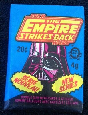 1980 Star Wars The Empire Strikes Back O-Pee-Chee Wax Pack Trading Cards (#51)