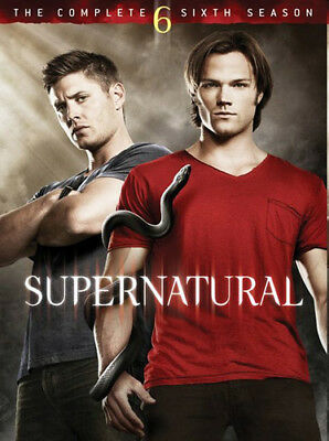 Supernatural: The Complete Sixth Season (Season 6) (6 Disc) DVD NEW