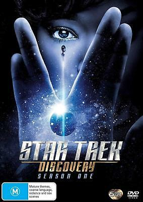 STAR TREK: DISCOVERY 1 (2017-2018) BRAND NEW TV SERIES SEASON - Au Rg4 DVD