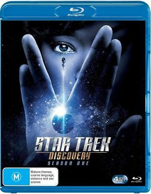 STAR TREK: DISCOVERY 1 (2017-2018) BRAND NEW TV SERIES SEASON - Au RgB BLU-RAY