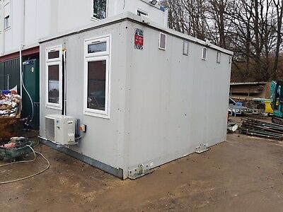 Portable Site Cabin Office Steel Building 11.2x14.8ft