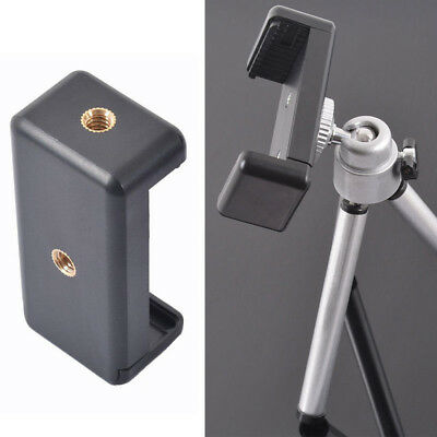 Mobile Phone Clip Tripod Bracket Holder Mount Adapter For Phone Holding Stand*1