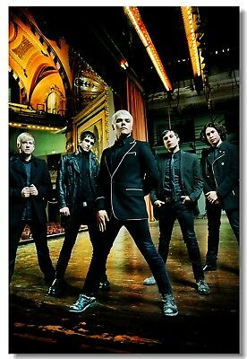 Poster My Chemical Romance Music Band Group Art Wall Club Room Cloth Print 201