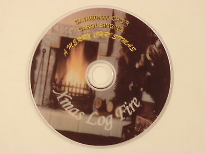 Log fire DVD CHRISTMAS CAROL BACKGROUND