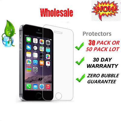 Hq Premium Real Tempered Glass Screen Protector For Iphone Se 5S 5C 5 /Wholesale