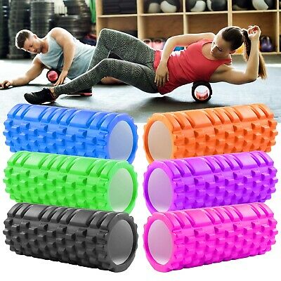 Yoga Massage Roller Foam Sports Injury Physio Gym Pilates Fitness Home Exercise