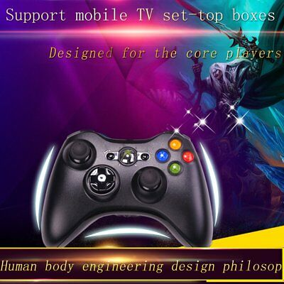 Black Wireless Game Remote Controller Housing Shell for Microsoft Xbox 360 UJ