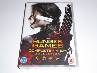 The Hunger Games - Complete 4-Film Collection - NEW / SEALED GENUINE UK DVD SET