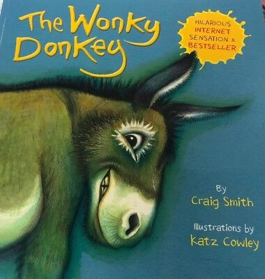 The Wonky Donkey Paperback Book*Childrens Best Seller by Craig Smith*