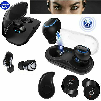 Wireless Earphone Bluetooth Headphones TWS Twins Stereo Earbuds Sweatproof Sport