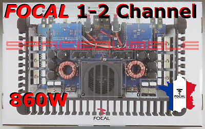 New Focal FPS 2300 RX High End Power Amplifier 1 / 2 Channel 860W RMS Subwoofer