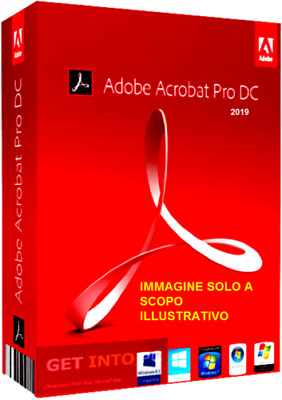 ADOBE ACROBAT PRO DC 2019 (ITALIANO) software modifica PDF pc Windows