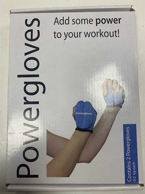 Powergloves by Powerhoop, 2 x 0.5 Kg each - New - Weighted Training Gloves