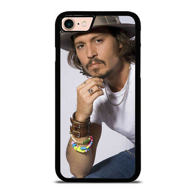 CUTE JOHNNY DEPP ACTOR #1 iPhone 6/6S 7 8 Plus X/XS Max XR Case Cover