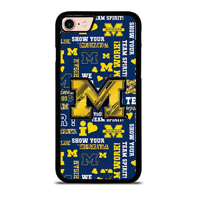 MICHIGAN WOLVERINES ICON iPhone 6/6S 7 8 Plus X/XS Max XR Case Cover