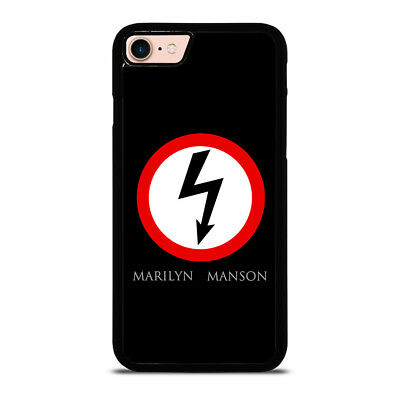NEW MARILYN MANSON LOGO iPhone 6/6S 7 8 Plus X/XS Max XR Case Cover
