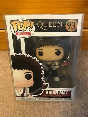 ON HAND - Funko POP Rocks Brian May #93 Queen Vinyl Figure W/ Protector