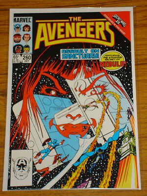 Avengers #260 Vol1 Marvel Comics Secret Wars Thanos October 1985