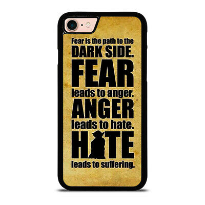 STAR WARS YODA QUOTES iPhone 6/6S 7 8 Plus X/XS Max XR Case Cover