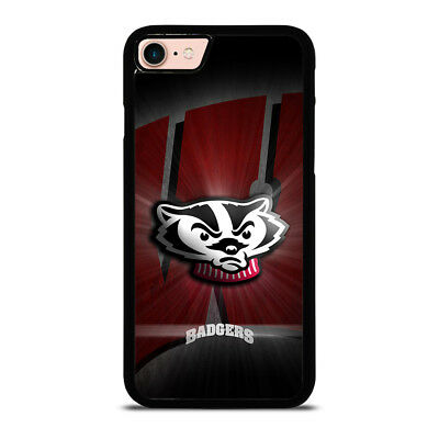 WISCONSIN BADGER iPhone 6/6S 7 8 Plus X/XS Max XR Case Cover