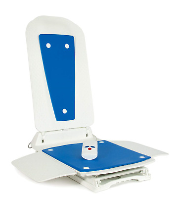 Bath Lift Bathmaster Deltis Complete With Blue Covers - UK, (Eligible for...