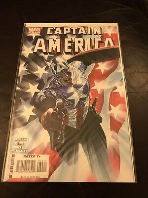 Captain America 34 Ross Variant NM 1st Winter Soldier as Cap Bucky