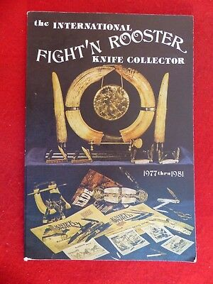 vintage 1977-1981 Fight'n Rooster original 128 page catalog-Lots of images!