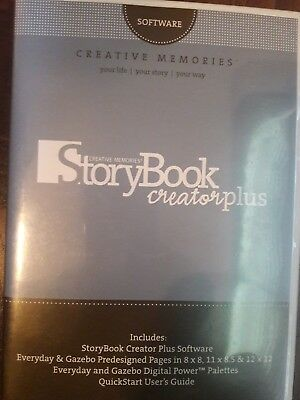 Creative Memories Story Book Creator Plus   Software AND Primary & Jewell coll.