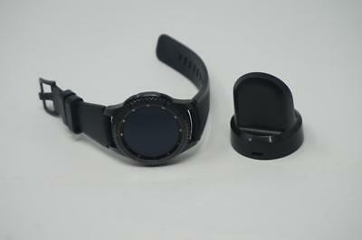 Very Good Used Black Samsung Gear S3 Frontier SM-R760 Smart Watch  A-128-H