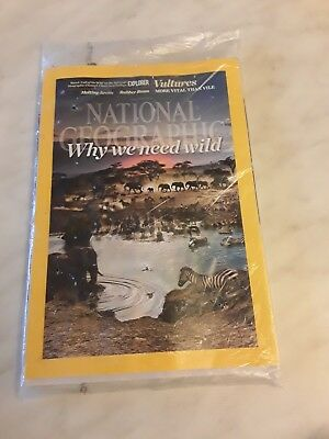 National geographic magazine January 2016 Unread Sealed why we need wild