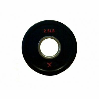 2.5 Lb Olympic Weights - Cff Rubber Coated Olympic Grip Plates - Pair