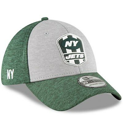 New York Jets Cap Sideline Road NFL Football New Era 39thirty Kappe S / M M / L