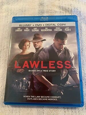 Lawless Blu Ray Only.