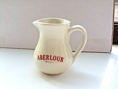 miniature aberlour scotch whisky water jug no markings on base  in VGC